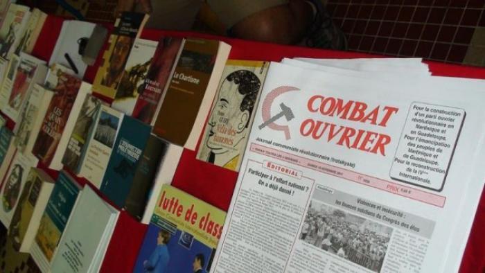 Militants et sympathisants réunis pour le  rassemblement annuel de Combat ouvrier