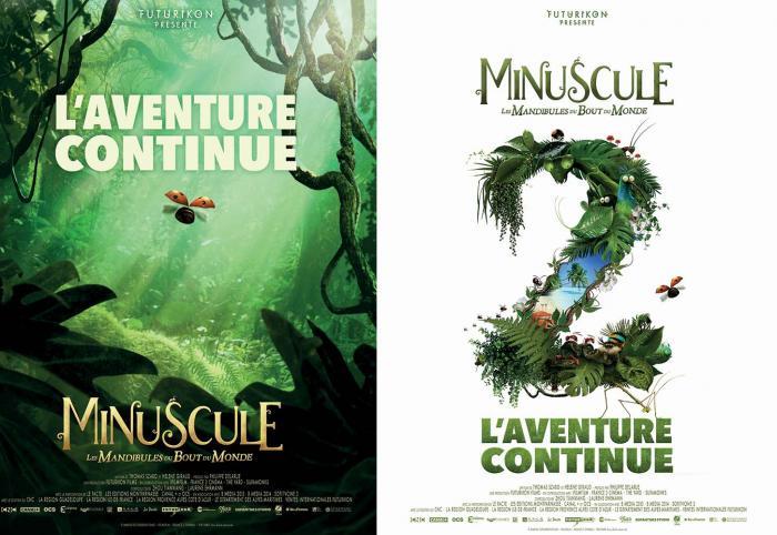 Minuscule 2 : Les premières images du film à une semaine de la fin du tournage en Guadeloupe