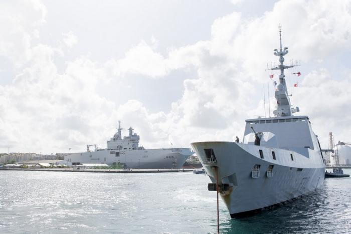 Mission Jeanne d'Arc : les officiers élèves de la Marine sont en Martinique