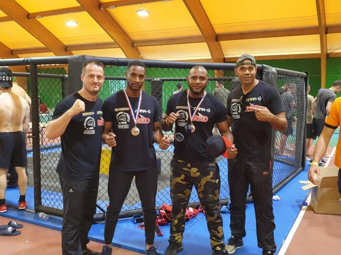 MMA : les combattants martiniquais ramènent des titres