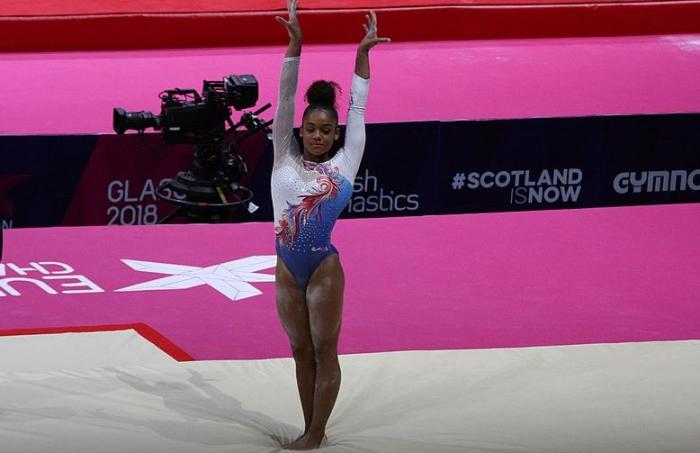 Mélanie Jesus Dos Santos, une gymnaste martiniquaise en or
