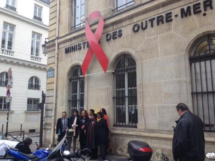 Mobilisation contre le VIH Outre-mer