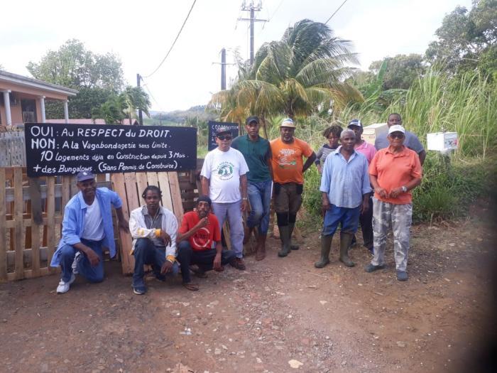 Mobilisation contre un chantier de construction à la Manzo