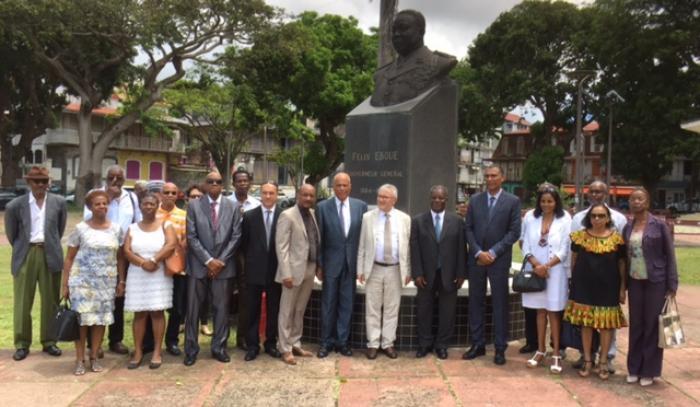 Mobilisation de terrain du Modem Guadeloupe pour Emmanuel Macron
