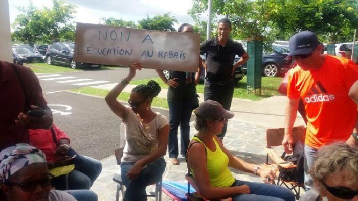 Mobilisation des enseignants du collège Maurice Satineau