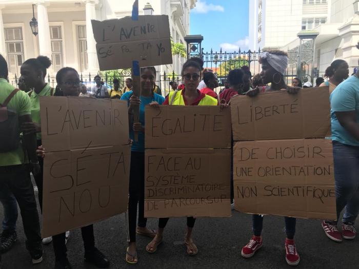 Mobilisation des lycéens : 20 lycées sur 23 mobilisés, ce jeudi