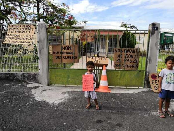 Mobilisation des parents d'élèves à Valette Sainte-Anne