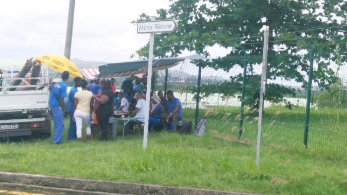 Mobilisation des sous-traitants d'Orange Caraïbes