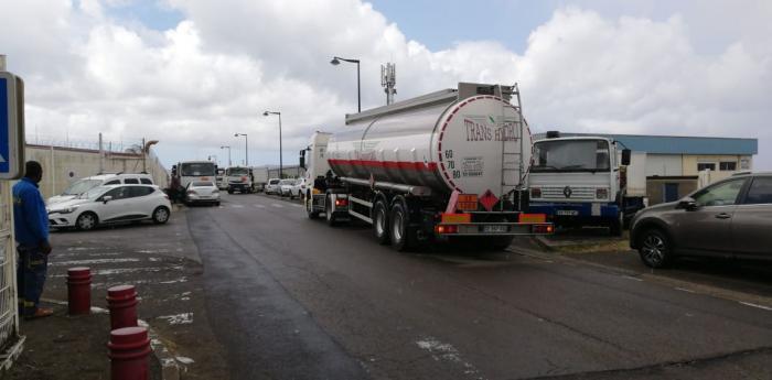 Mobilisation des transporteurs de gaz devant la SARA