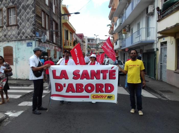 Mobilisation du service public : entre 400 et 500 manifestants