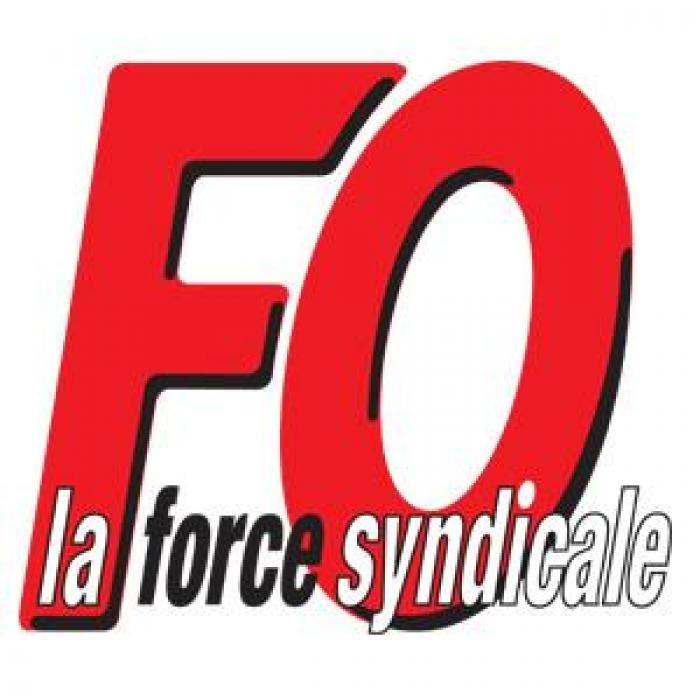Mobilisation FO devant le Conseil Général à Fort-de-France