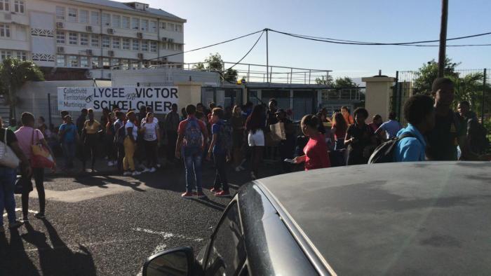 Mobilisation lycéenne : plusieurs lycées bloqués en Martinique