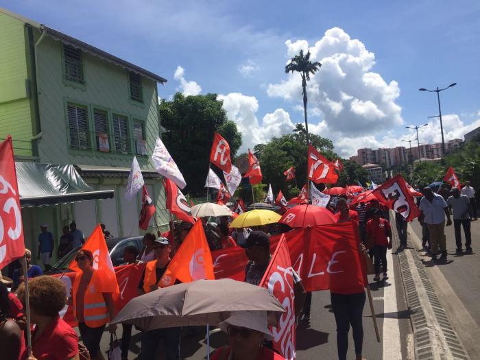 Mobilisation moyennement suivie en Martinique