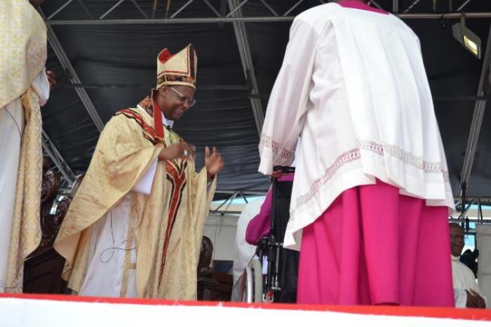 Monseigneur David Macaire, évêque de Saint-Pierre et de Fort-de-France