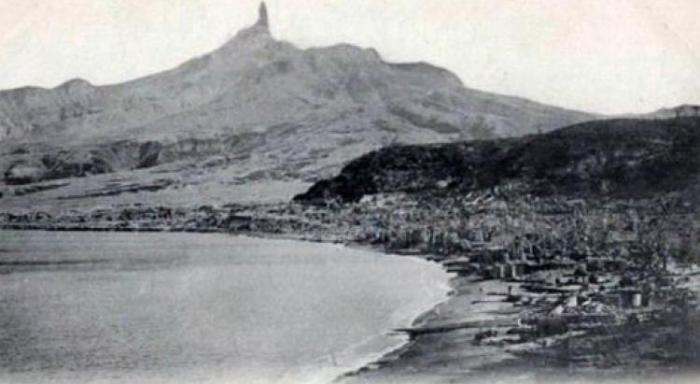 Montagne Pelée: commémoration des 117 ans de l'éruption