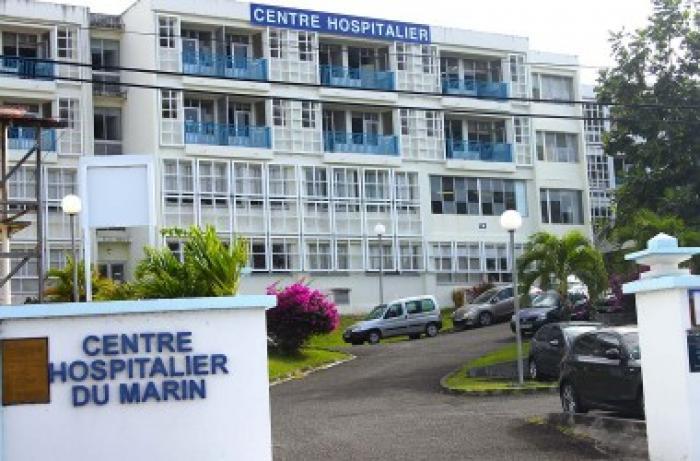 Mouvement de grève à l'hôpital du Marin