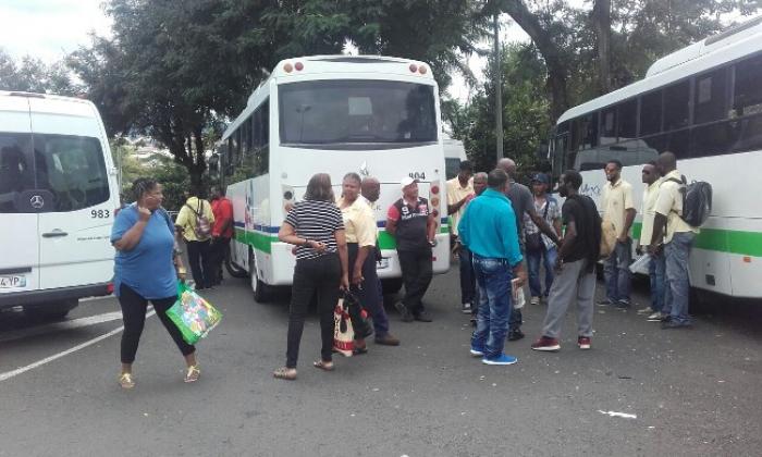 Mozaïk : Aucun bus ne circule sur le Lamentin
