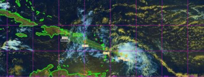 À quel temps s'attendre en Martinique lors du passage de la tempête Béryl sur l'Arc Antillais ?