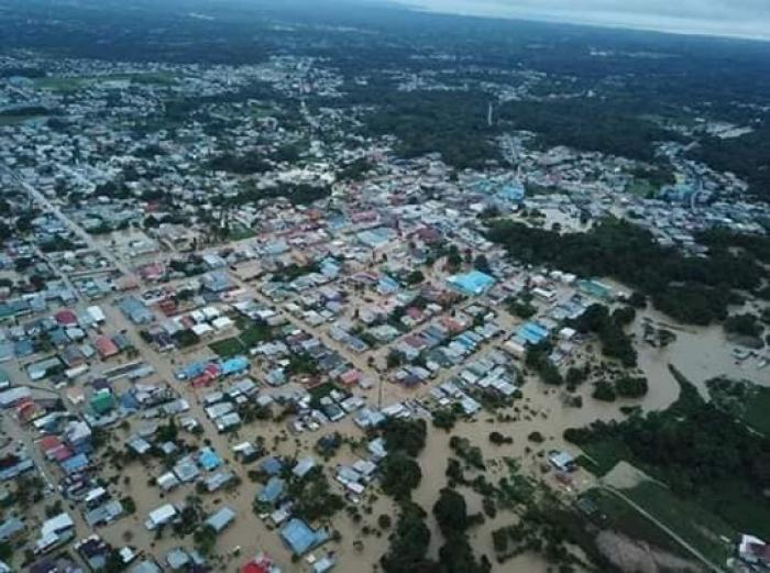 À Trinidad, des centaines d'habitants font face à d'importantes inondations