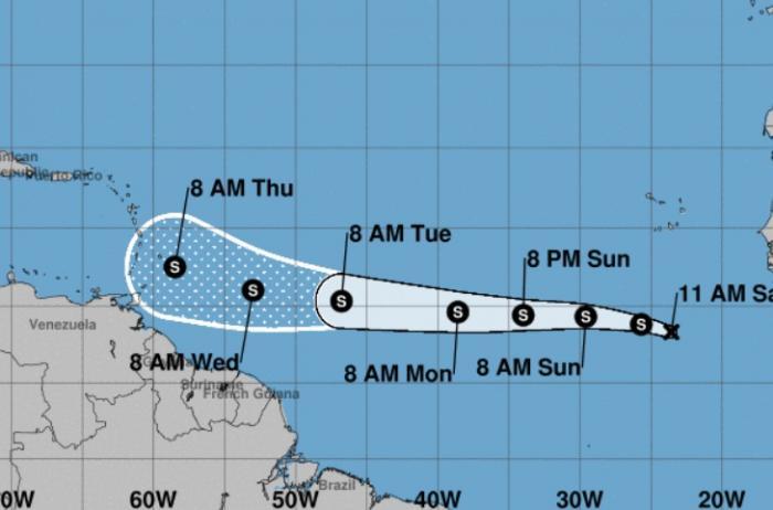 Naissance de la tempête Kirk, la dépression 11 devrait se désorganiser