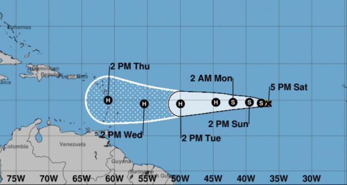 Naissance de la tempête tropicale Isaac, les Antilles dans le viseur