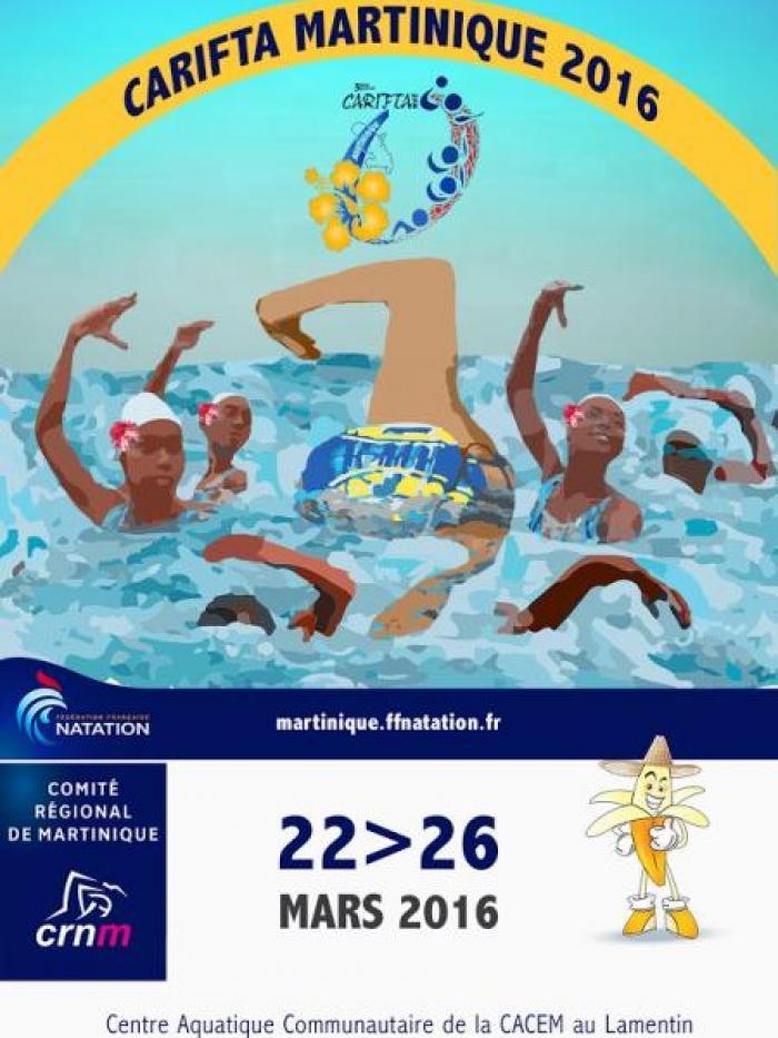 Natation : le championnat de Carifta games débute ce matin au Lamentin