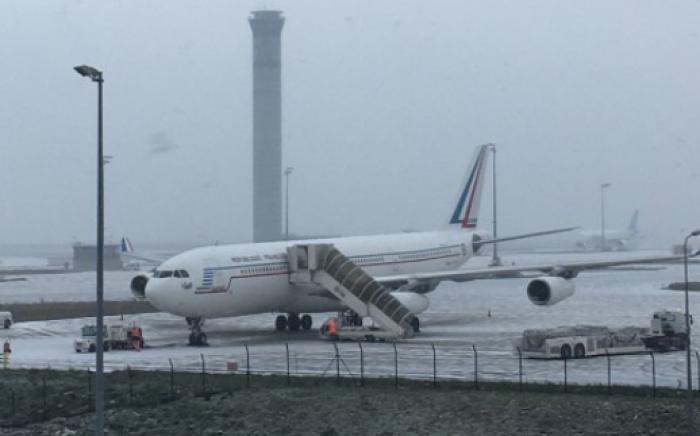 Neige à Paris : le vol Corsair prévu ce jeudi annulé