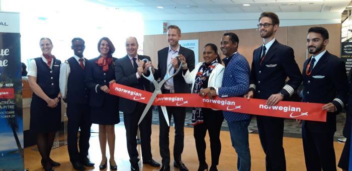 Norwegian lance en grande pompe sa liaison Pointe à Pitre Montréal