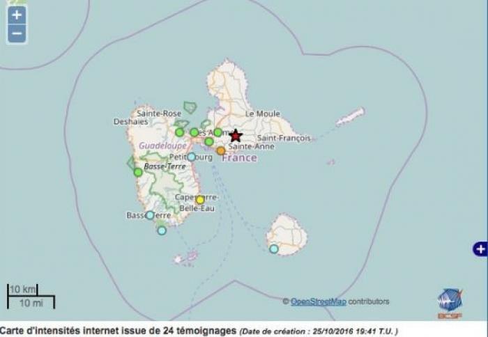 Nouveau séisme : l'avez-vous ressenti ?