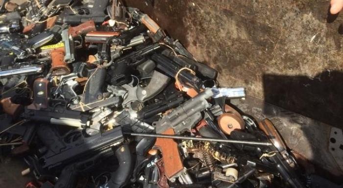"""Nouvelle campagne """"déposez les armes"""" en Martinique"""