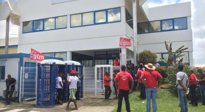 Nouvelle mobilisation d'une partie des salariés de Martinique Catering