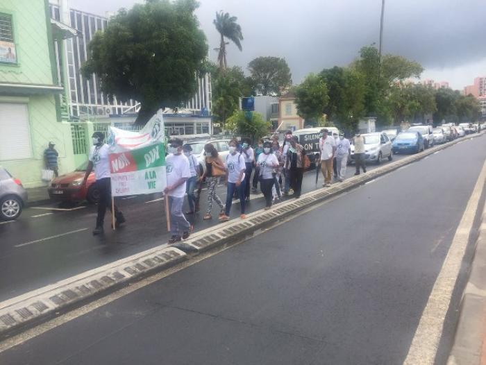 Nouvelle mobilisation de l'Assaupamar devant la préfecture