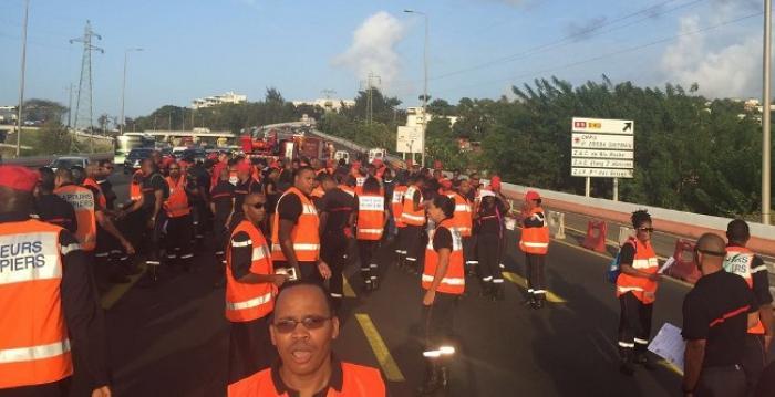 Nouvelle mobilisation des pompiers !