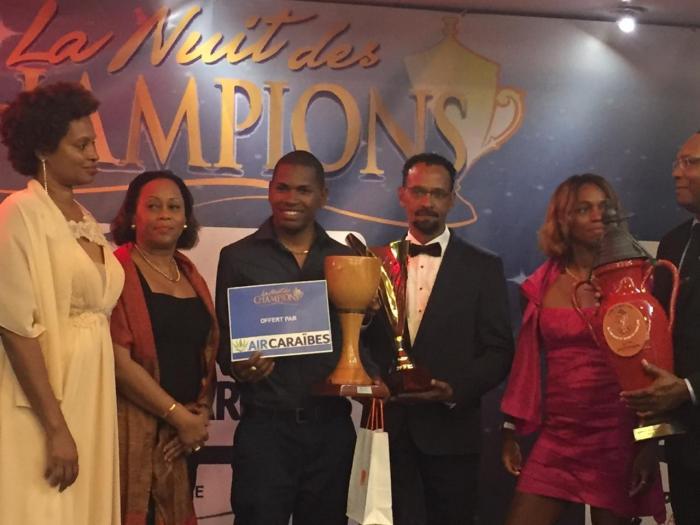 Nuit des champions : Mickaël Stanislas et le Club Franciscain sont les champions 2018