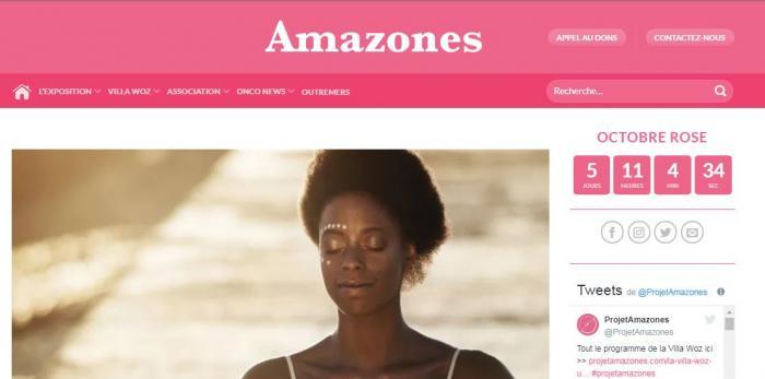 Octobre rose : les Amazones s'installent à la villa Chanteclerc