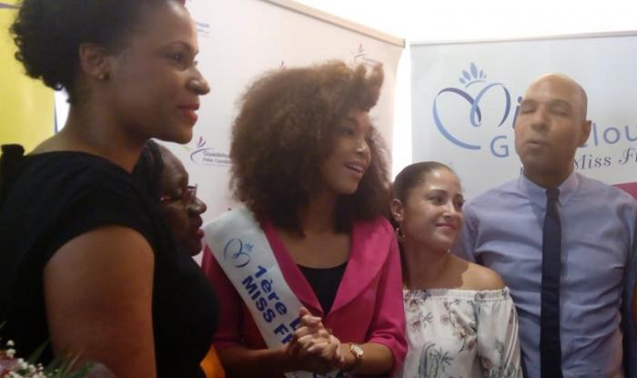 Ophélie Mézino de retour en Guadeloupe