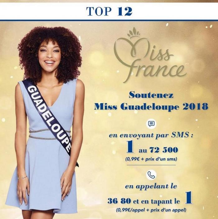 Ophély Mézino dans le top 5 de l'élection Miss France