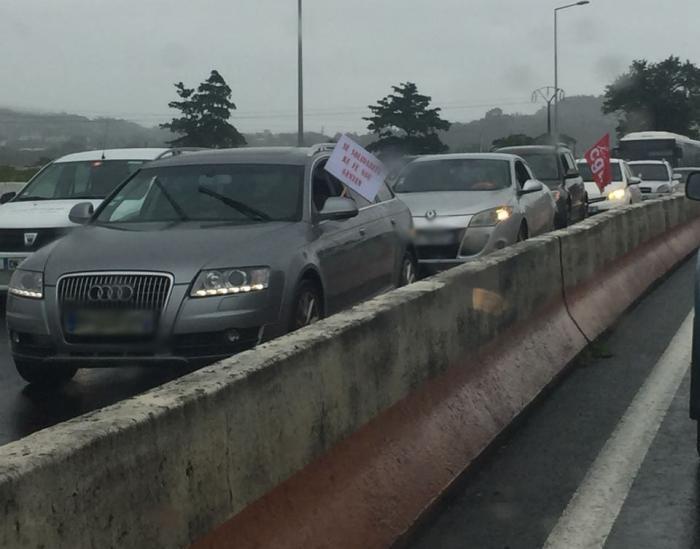 Opération Molokoy en cours sur l'autoroute