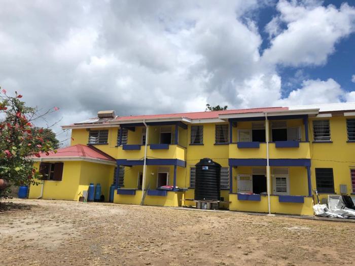 Opération tôles : il y a un an, RCI se mobilisait pour un Ehpad à la Dominique