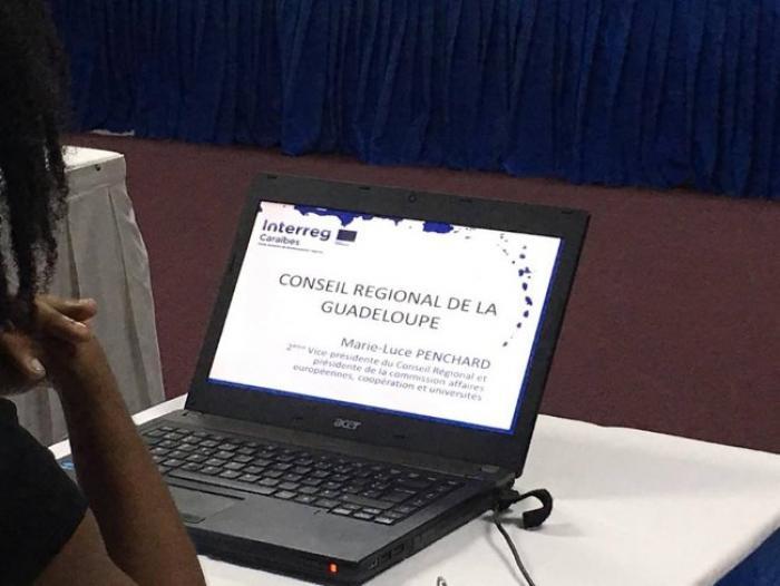Ouverture de la conférence Interreg Caraïbes