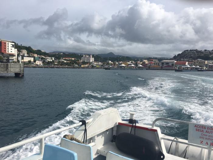 Ouverture officielle de la ligne maritime Case-Pilote/Fort-de-France