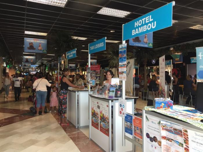 Partir en vacances Martinique : opération séduction du CMT à la Galleria