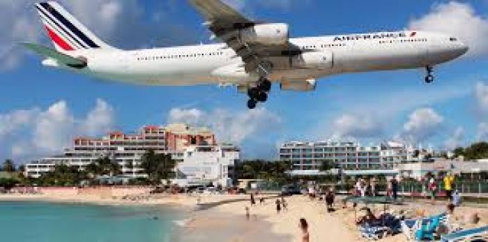 Pas de vols directs Paris-Saint-Martin jusqu'en mars pour Air France
