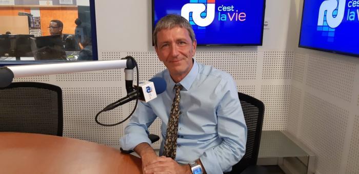 Pascal Jan le recteur d'académie aborde le sujet de la réforme du Bac et de son application en Martinique