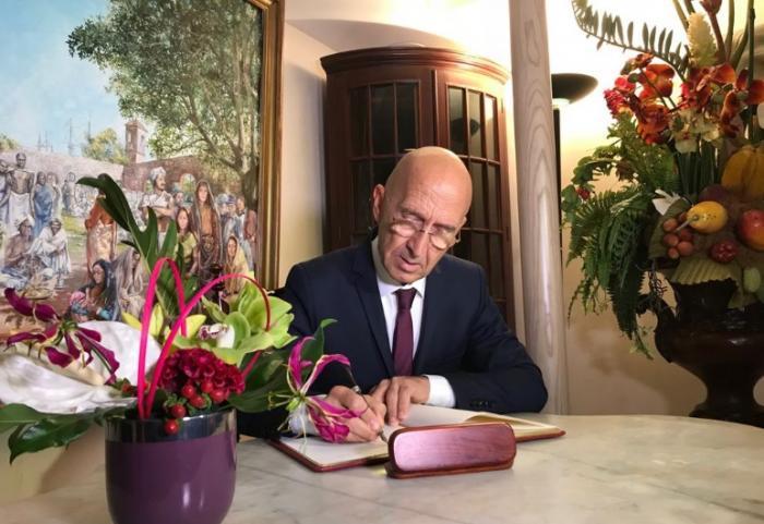 Philippe Gustin prend ses fonctions de Préfet ce matin (VIDEO)