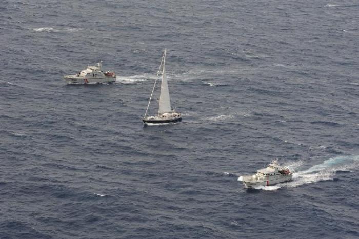 """Plus de 2 tonnes de cocaine saisies sur le voilier """"Silandra"""" au large de la Martinique"""