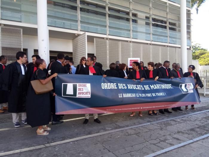 Plusieurs avocats, magistrats et de greffiers mobilisés, ce mardi après-midi