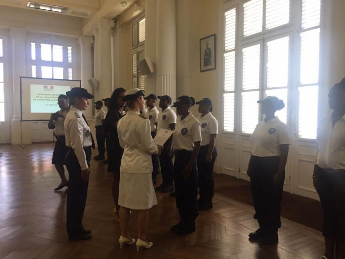 Plusieurs cadets de la République option police nationale récompensés