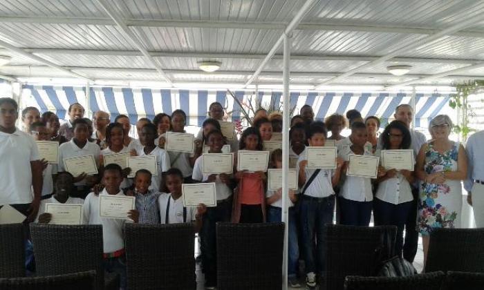 Plusieurs collégiens ont reçu leur diplôme de médiateur !