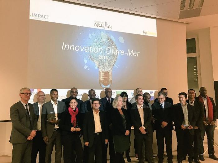 """Plusieurs entrepreneurs originaires d'Outre-Mer primés à """"l'innovation Outre-Mer"""""""